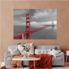 Golden Gate bridge, uramljena slika 70x100cm