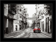 Havanna 3D, uramljena slika
