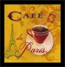 Kafa za dobro jutro, tri uramljene slike