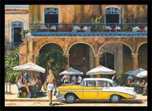 Kafe Kuba, uramljena slika