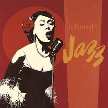 Le festival de Jazz, uramljena slika
