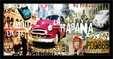Kuba Havana, uramljena slika