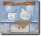 Latte,  slika na medijapanu