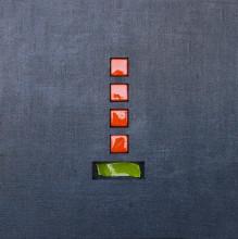 NunoG, uramljena slika 70x70cm