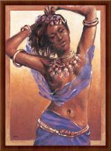 Samanta, uramljena slika