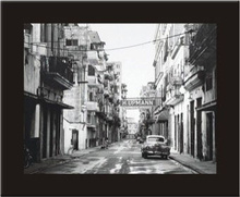 Stara Kuba, uramljena slika
