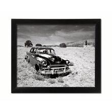 Stari Automobil, uramljena slika