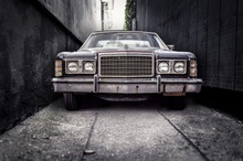 Stari Ford, uramljena slika