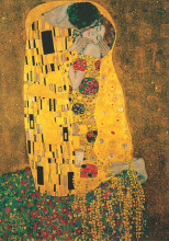 The Kiss, G. Klimt, uramljena slika 70x100cm