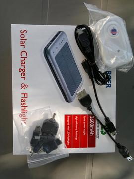 Slika NOVO!!! solarni punjaci paneli sa svojom litijum polimer baterijom