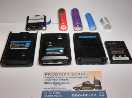 Slika rezervne baterije punjive za radiostanice veze ,i lampe ,lasere i ostalo LiJon