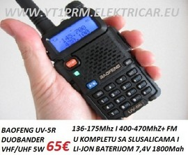 Slika Baofeng uv5r rucni duoband radio stanica