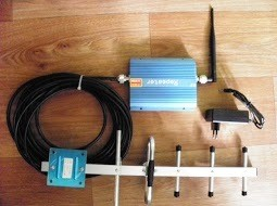 Slika gsm mobilni signal repetitor buster pojacivac signala za sve mreze mobilne telefonije