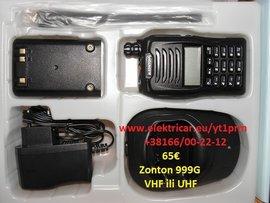 Slika Rucna stanica  VHF ili UHF varijanta model Zonton 999G