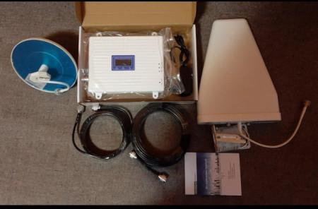 Slika 3in1 model 2g gsm, 3G wcdma i 4G Lte dcs signal pojacivac repetitor za mobilnu mrežu