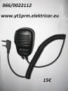 rucni mikrofon sa zvucnikom za radio vezu