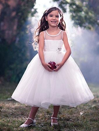 Raskosna svecana haljina sa tilom i cvetom