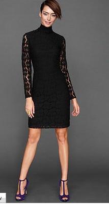 Slika Elegantna koktel haljina sa cipkom
