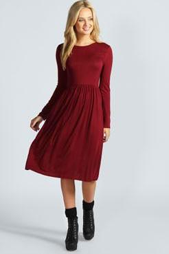 Slika Poludugacka pamucna haljina