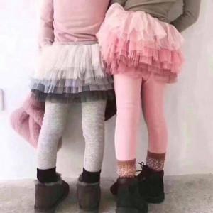 Helanke sa suknjicom od tila (ombre)