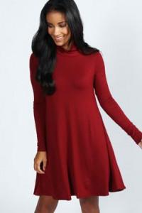 Zvonasta pamucna haljina