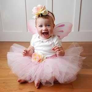 Bebi  roze tutu suknjica
