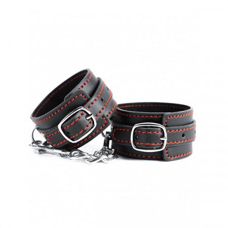 Slika Kvalitetne lisice za ruke | Black and Red