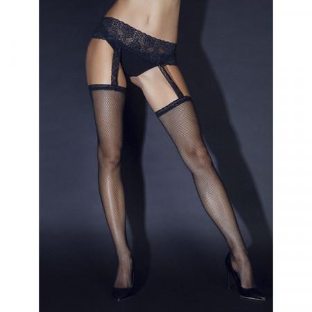 Slika Čarape | Black lace belt