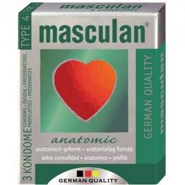 Slika Masculan Kondomi Anatomski