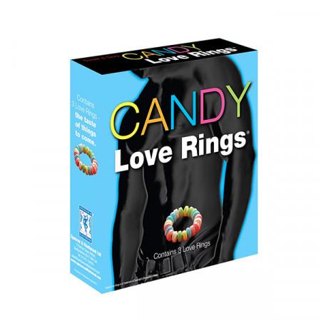 Slika Jestivi prsten za penis   Candy Love 3 Rings
