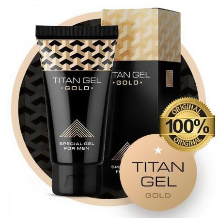 Slika Titan gel gold