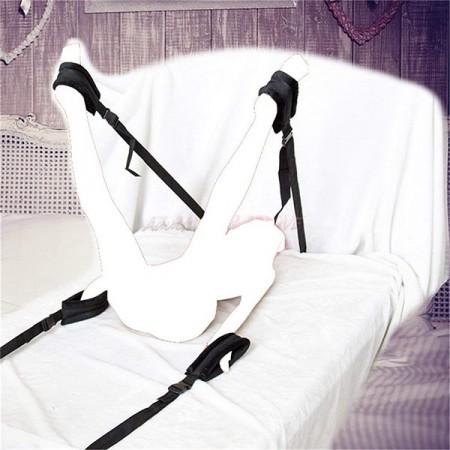 Slika Vezovi za krevet | Crni vezovi