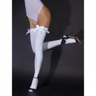 Čarape sa mašnicom | White satin bows