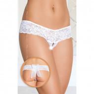 Bele ženske gaćice | čipkane