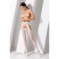 Bele mrežaste čarape
