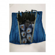 Korset | Blue corset 2