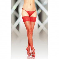 Ženske čarape | Stockings red