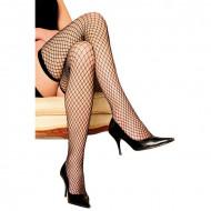 Crne mrežaste čarape | samodržeće