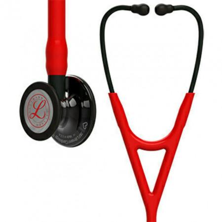 Littmann Cardiology IV Stethoscope, Red Smoke Heart, 6182