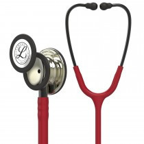 Littmann Classic III Monitoring Stethoscope: Champagne & Burgundy 5864