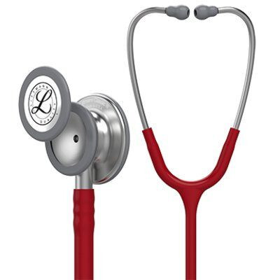Littmann Classic III Monitoring Stethoscope: Burgundy 5627