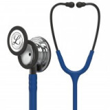 Littmann Classic III Monitoring Stethoscope: Mirror & Navy Blue 5863