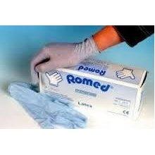 Romed Sterilne Rukavice za Jednokratnu Upotrebu sa i bez Talka, Latex rukavice