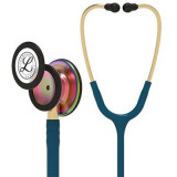3M™ Littmann® Classic III™ Monitoring Stethoscope, Rainbow-Finish, Caribbean Blue