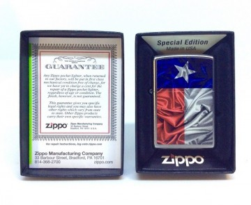 Зажигалка Zippo 205 Texas Flag
