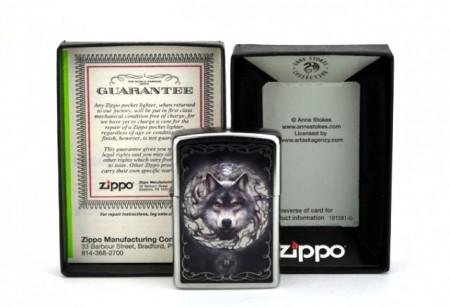 Зажигалка Zippo 5812 Anne Stokes Wolf