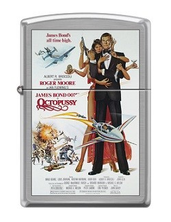 Зажигалка Zippo 6270 James Bond 007 Octopussy
