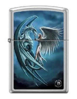 Зажигалка Zippo 7431 Anne Stokes Dragon and Angel