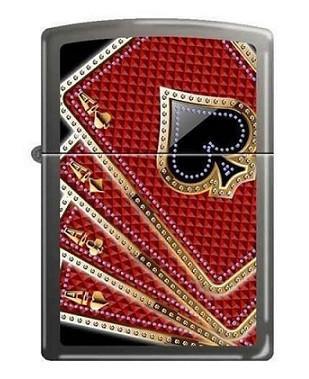 Зажигалка Zippo 7953 Card Suits Aces