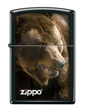 Зажигалка Zippo Brown Bear